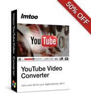 50% OFF for YouTube Video Converter